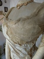 8 antique evening dress WORTH 1898
