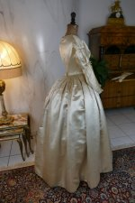 30 antique wedding dress 1845