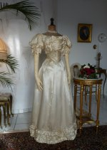 6 antique ball gown 1892