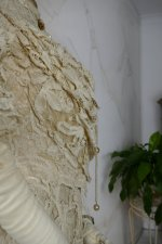 36 antique ALTMANN Battenburg lace dress 1904