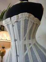 7 antique summer corset 1890