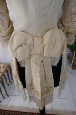 33 antique silk jacket 1895