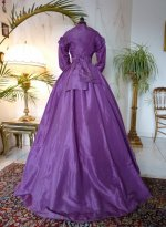 18 antique dress 1865