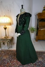 12 antique reception gown 1896