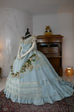 16 antique victorian ball gown 1859