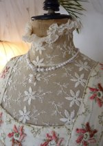 6a antique wedding dress 1910