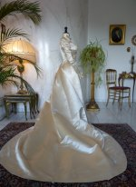 18 antique ROUFF Wedding Dress 1896