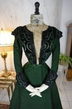 1 antique reception gown 1896