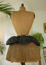 3 antique bustle pad