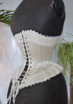 23 antique wedding corset 1880