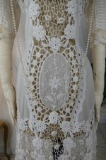 4 antique irish crochet dress 1904