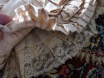 38 antique bustle gown