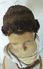 3 antique hair wig