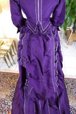 31 antique bustle dress 1874