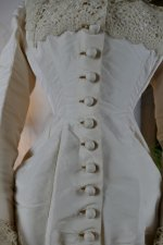 6 antique wedding dress 1878