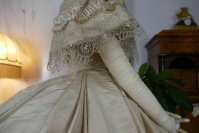 37 antique ball gown 1859