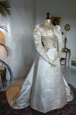 8 antique ROUFF Wedding Dress 1896