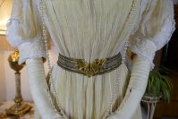 5 antique tea gown 1903