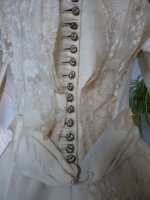 8 antique wedding Gown 1895