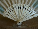 2 antique Fan 1890