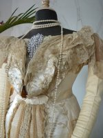 7 antique ball gown