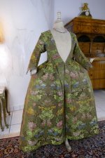 6 antique childs court dress 1760