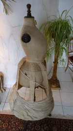 12 antique crinoline