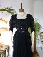 8 antique ball dress 1901