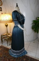 30 antique society dress Kayser 1908