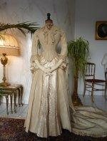 7 antique wedding gown 1877