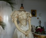 9 antique ball gown 1892