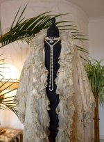 4 antique opera coat