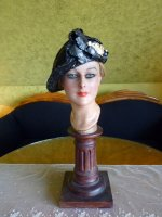 2 antique Jean Patou Hat 1920