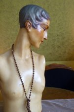 35 antique wax mannequin 1920