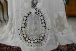 13 antique irish crochet dress 1904