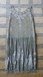 36 antique flapper dress 1925