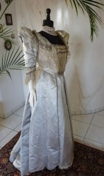 9 antique ball dress