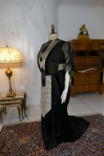 18 antique dinner dress Hamburg 1906