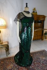 16 antique evening dress 1912