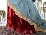 18 antique Ball gown 1876
