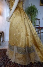 18a antique ball gown 1895