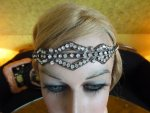 antique jewellery, antique flapper bandeau, flapper bandeau 20s