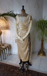 2 antique evening Dress 1919