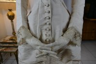 5 antique wedding dress 1878