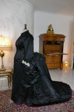 15 antique Pingat bustle dress 1880