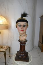 2 antique headpiece 1920