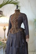 7 antique bustle gown