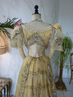 36 antique evening gown Duval Eagan 1889