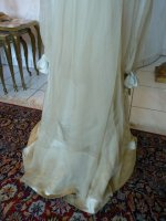 21 antique WORTH Evening Gown 1906