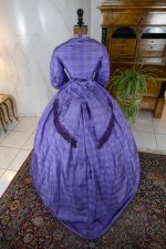 18 antique crinoline dress 1860
